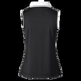 Alternate View 1 of Milia Sleeveless Striped Collar Polo Shirt