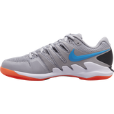 Alternate View 1 of Air Zoom Vapor X Men's Tennis Shoe - Grey/Orange