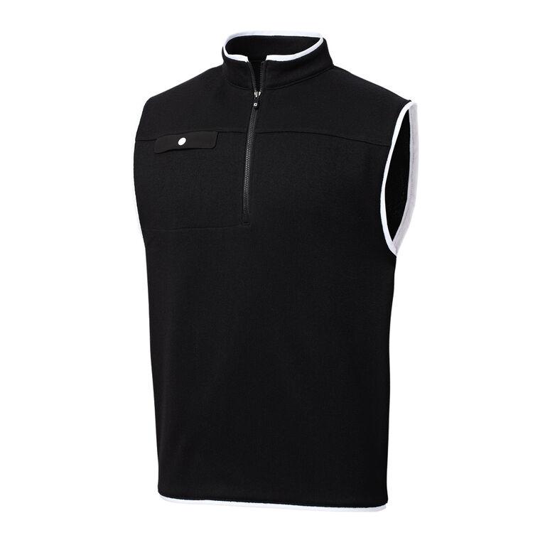 Sweater Fleece Quarter-Zip Vest