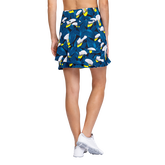 Alternate View 2 of Tranquil Bay Collection: Lily Garden Fit and Flare Pull On Skort