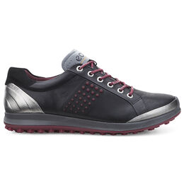 ECCO BIOM Hybrid 2 Men's Golf Shoe - Black/Red