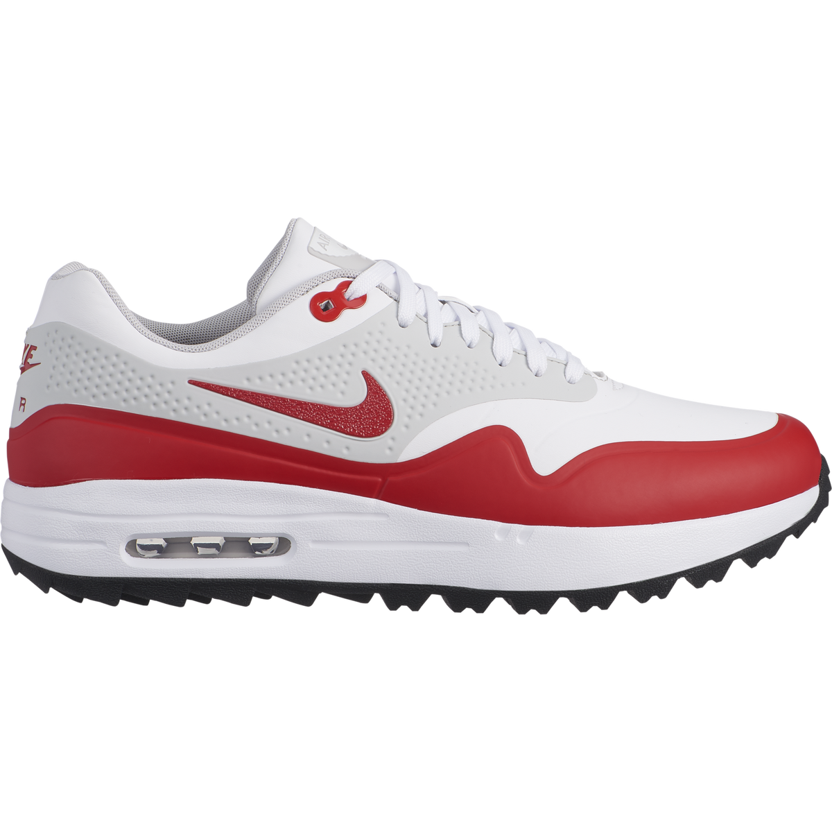 sale retailer 7e374 bb9ee Air Max 1G Mens Golf Shoe - WhiteRed