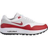 Air Max 1G Men's Golf Shoe - White/Red