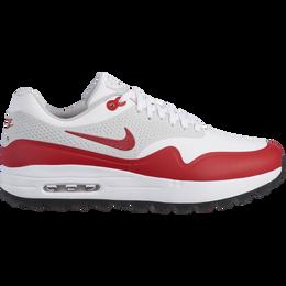 Air Max 1G Men's Golf Shoe - White/Red