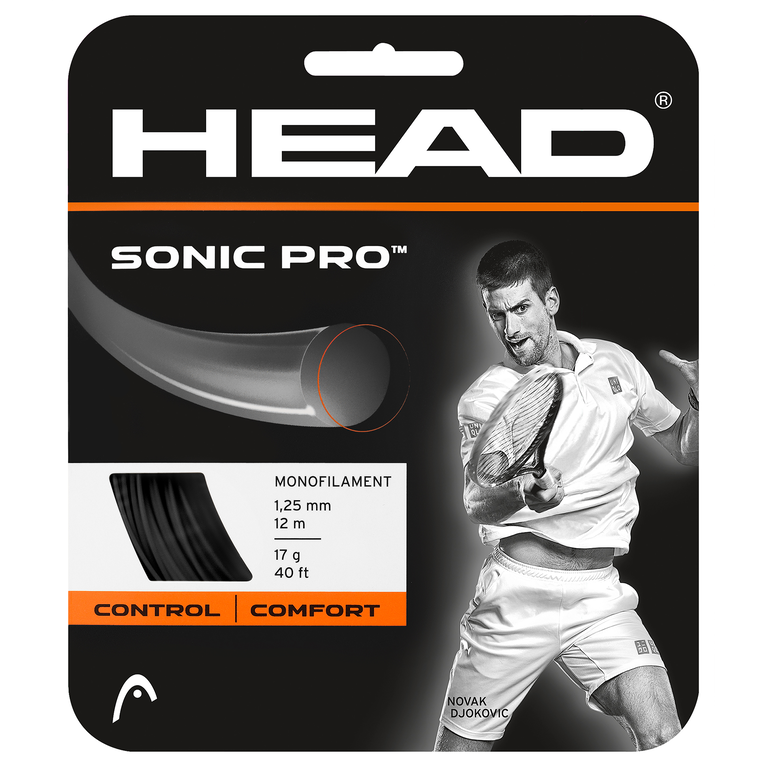 Head Sonic Pro 16 Gauge String-Black