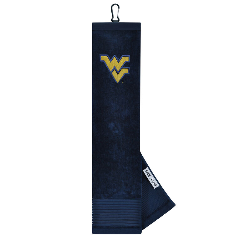 Team Effort West Virginia Mountaineers Tri-Fold Towel