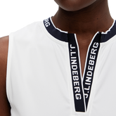 Alternate View 2 of Leya Sleeveless JL Placket Polo Shirt