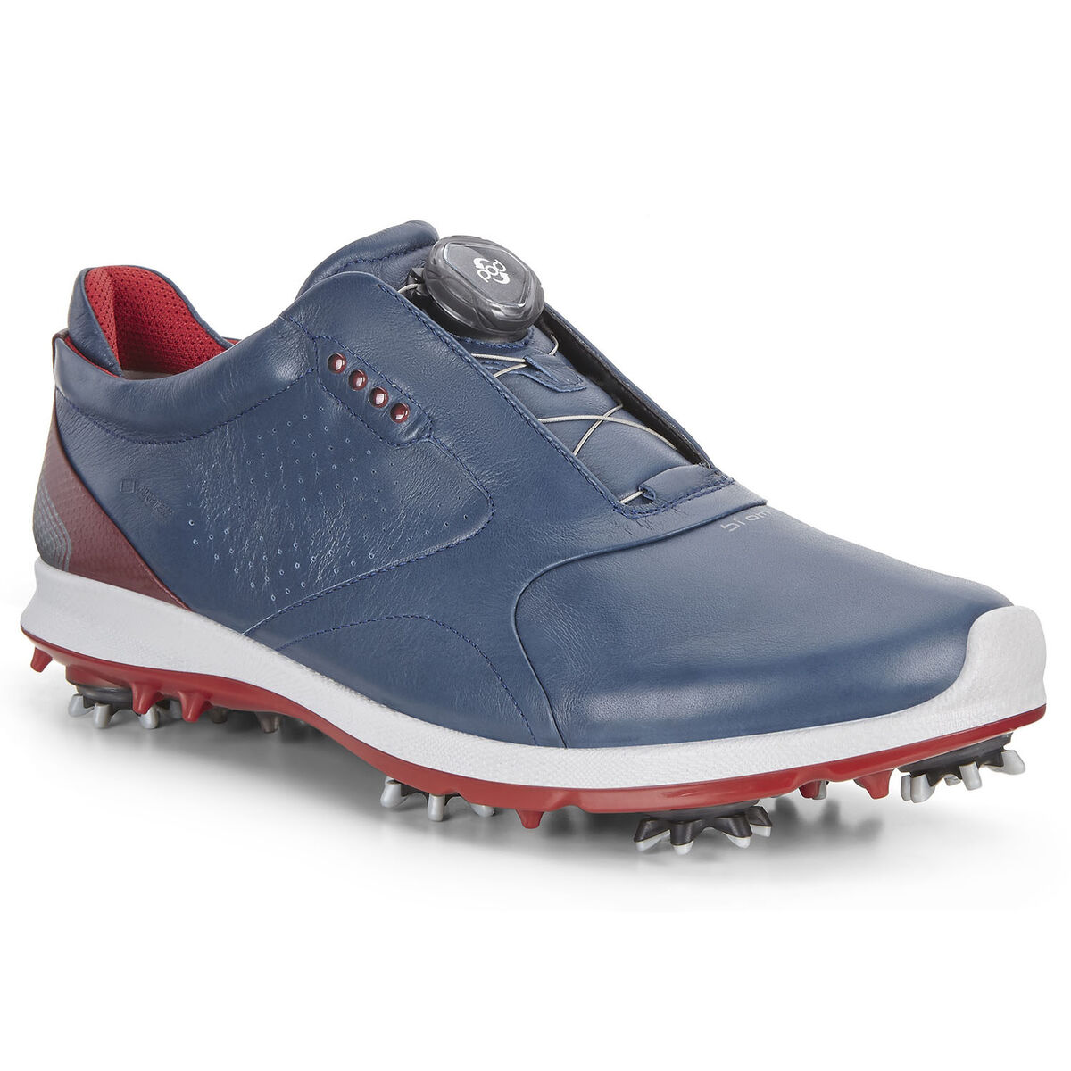9cb26d759d6f ECCO BIOM G2 BOA Men s Golf Shoe - Navy Red