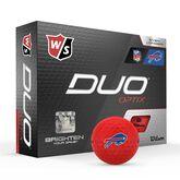 DUO Optix NFL Golf Balls - Buffalo Bills