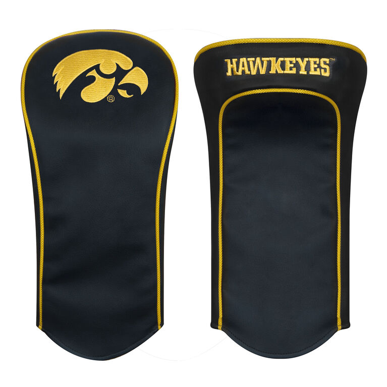 Team Effort Iowa Black Driver Headcover