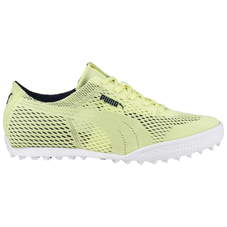 PUMA Monolite Cat Woven Women's Golf Shoe - Lime