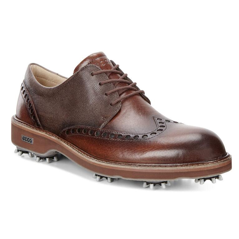 ECCO Lux Men's Golf Shoe - Brown