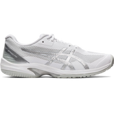 Court Speed FF Men's Tennis Shoe - White/Silver