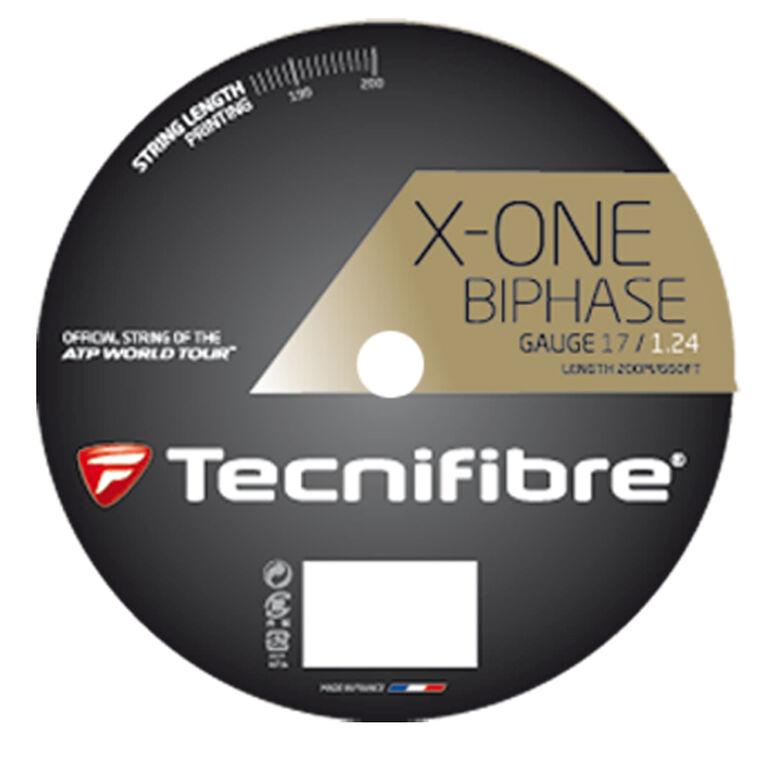 Tecnifibre X-One Biphase 17 Gauge String Reel - Natural
