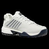 Alternate View 1 of Hypercourt Supreme Men's Tennis Shoe - White/Navy