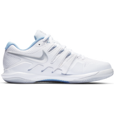 Alternate View 1 of Air Zoom Vapor X Women's Tennis Shoe - White/Blue