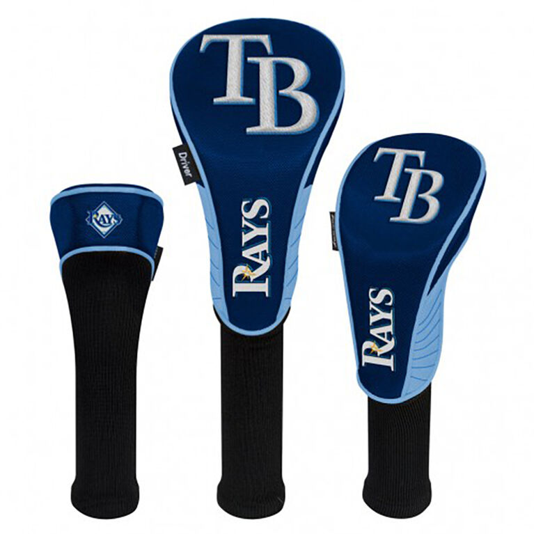 Tampa Bay Rays Set of 3 Headcovers