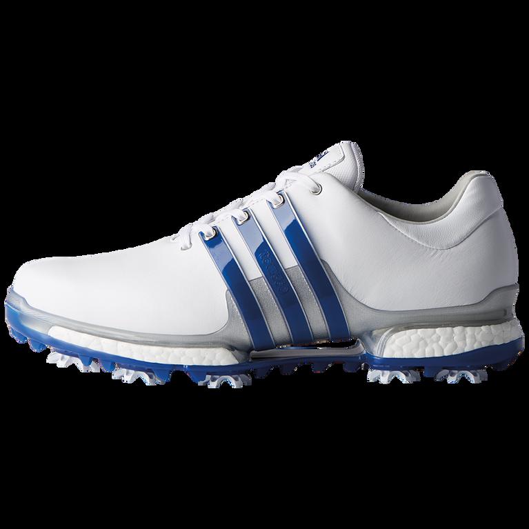 adidas TOUR 360 2.0 Men's Golf Shoe - White/Royal