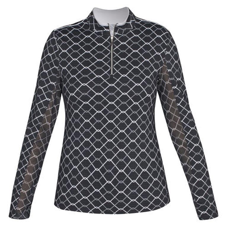 Nivo Sports 1/4 Zip Chainlink UPF Jacket