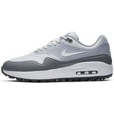 Alternate View 2 of Air Max 1 G Men's Golf Shoe - White/Grey