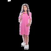 Alternate View 1 of Austin Short Sleeve All Over Maize Print Dress