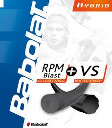 Babolat RPM 17g /VS 16g Hybrid String-Black