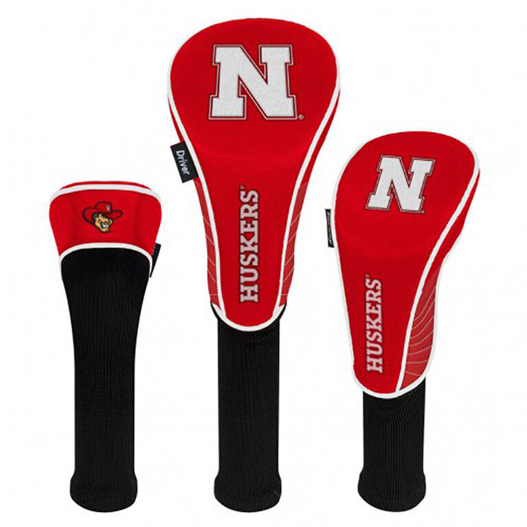 Team Effort Nebraska Cornhuskers Headcover Set of 3