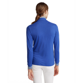Alternate View 3 of Performance Golf Long Sleeve Tipped Quarter-Zip Pull Over