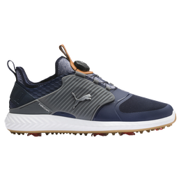 IGNITE PWRADAPT Caged DISC Men's Golf Shoe - Navy/Grey