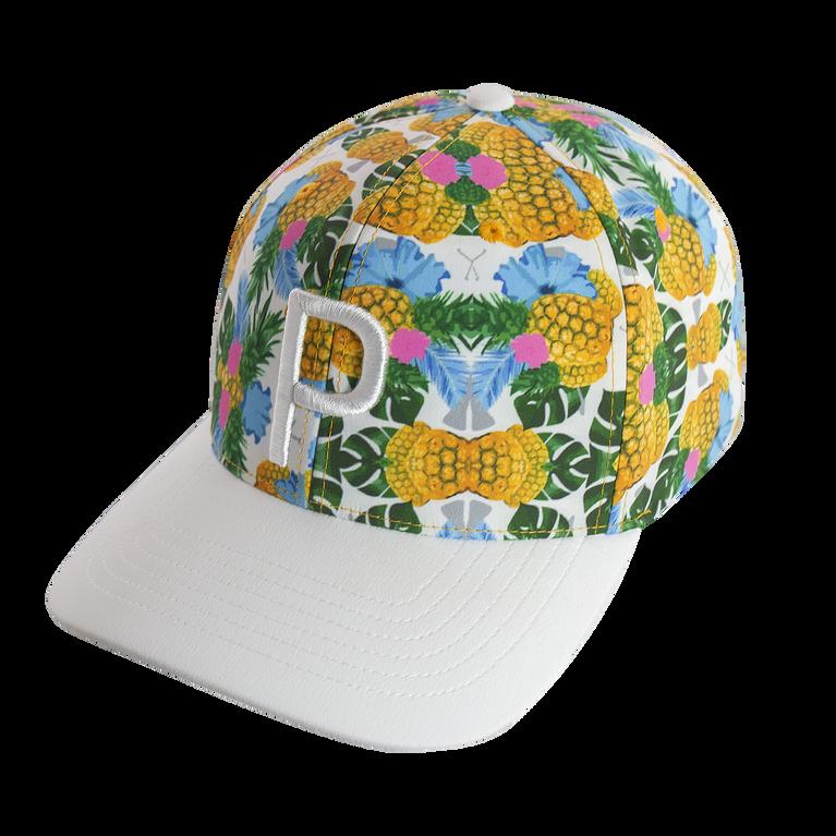 Pineapple P Snapback Hat