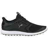 PUMA IGNITE PWRSPORT Men's Golf Shoe - Black/Silver