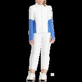 Color-Blocked Zip Jacket