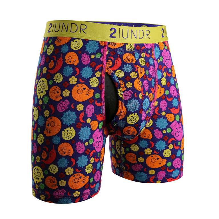 """2UNDR Swing Shift 6"""" Boxer Brief - Oaxaca"""