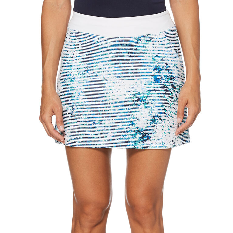 Green Group: Tropic Shades Print Golf Skort