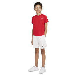 NikeCourt Dri-FIT Victory Boys' Short-Sleeve Tennis Top
