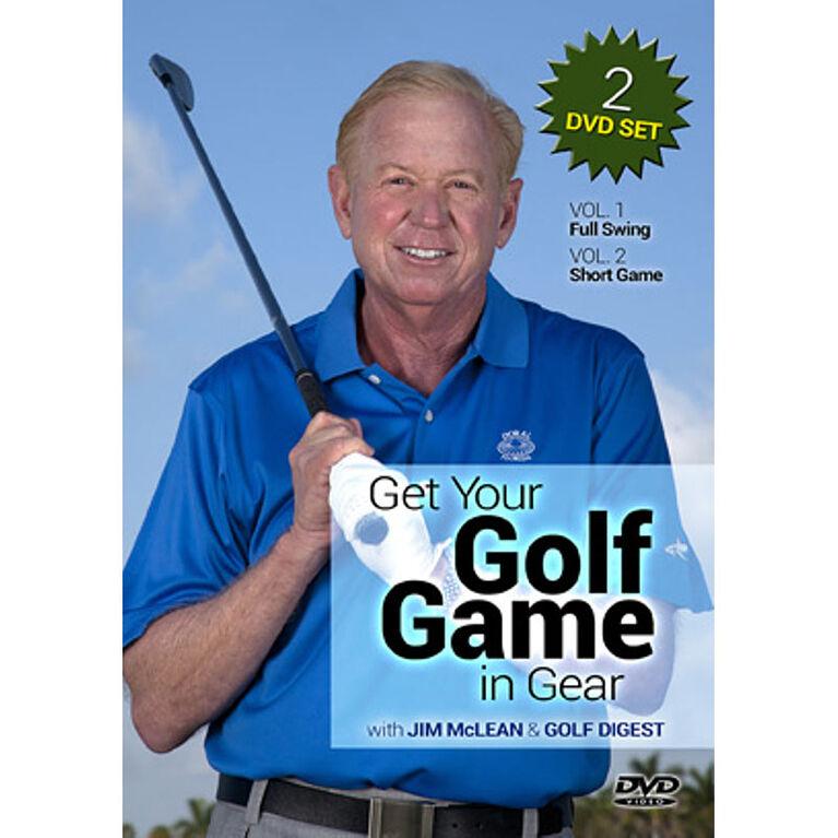 Game Golf In Gear DVD -  2PK