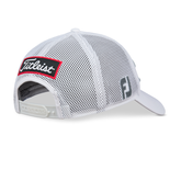 Tour Performance Mesh White Hat