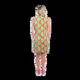 Alternate View 1 of Mystic Sleeveless Palm Print Scallop Dress