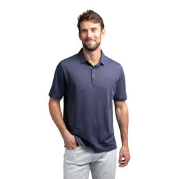 Knock on Wood Short Sleeve 3 Dot Polo