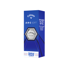 ERC Soft Triple Track Golf Balls - Personalized