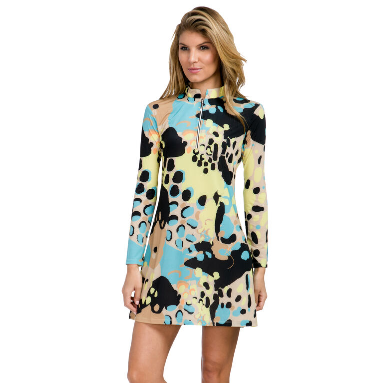 Sunsense - Long Sleeve Zootopia Dress