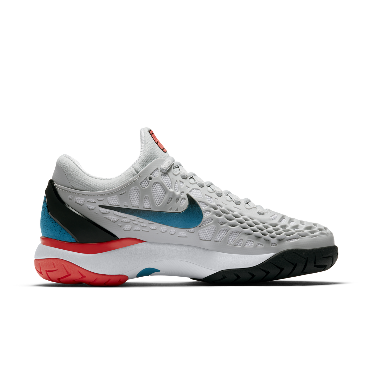 eb413ade3914 Nike Zoom Cage 3 Women's Tennis Shoe - Light Grey | PGA TOUR Superstore