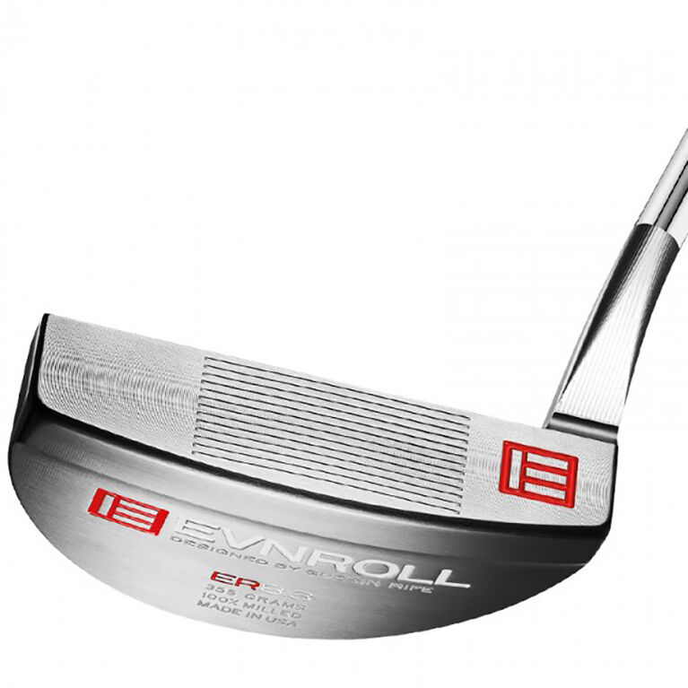 ER8.3 Tour Mallet Putter w/ Red Pistol Grip