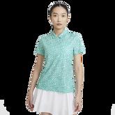 Dri-FIT Short Sleeve Grid Printed Golf Shirt