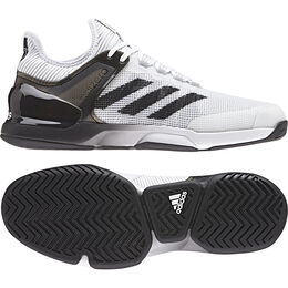adidas adizero Ubersonic 2.0 Men's Tennis Shoes - White/Black