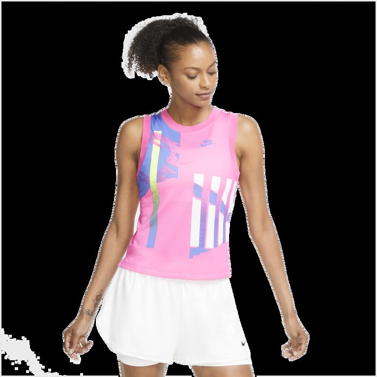 Slam Women's Graphic Print Tennis Tank Top