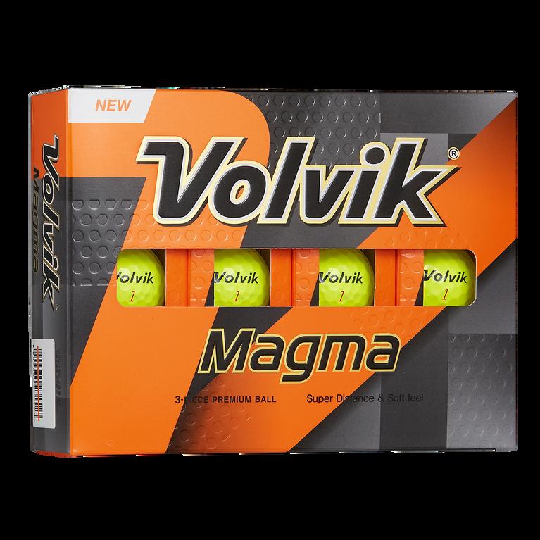 Magma Yellow Golf Balls