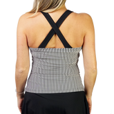 Alternate View 2 of Ruffles & Stripes Collection: Striped Halter Tank Top