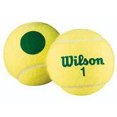 Alternate View 1 of Wilson Green Tournament Transition Balls