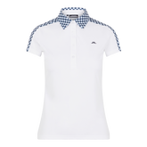 Alternate View 5 of Cara Short Sleeve Gingham Back Polo